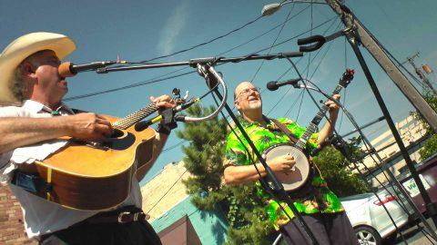 Blue Drifters Duet – Live Outdoors