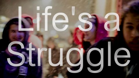 "CATO ""Life's a Struggle"" – Lyric Video (from artist provided footage)"