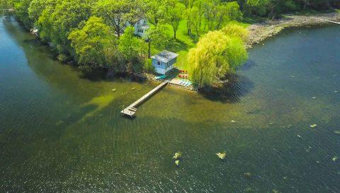 Lake Property 2 (Aerial & Walkthrough)